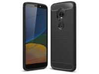 Husa TPU OEM Carbon pentru Motorola Moto E5 Plus, Neagra