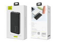 Baterie Externa Powerbank Usams US-CD63 10000 mA, 2 x USB, Neagra, Blister
