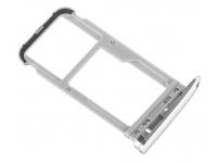 Suport Card - Suport SIM Argintiu Motorola Moto X4