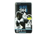 Folie Protectie Ecran X-One pentru Apple iPhone XS Max, Sticla securizata, Full Face, Full Glue, 3D, Neagra, Blister