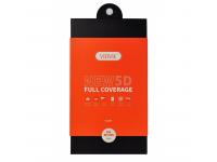 Folie Protectie Ecran VIDVIE pentru Apple iPhone 7 / Apple iPhone 8, Sticla securizata, Full Face, Full Glue, 5D, Alba, Blister
