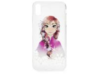 Husa TPU Disney Anna 001 pentru Apple iPhone XR, Multicolor, Blister