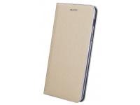 Husa Piele OEM Smart Venus pentru Apple iPhone X / Apple iPhone XS, Aurie, Bulk
