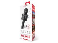 Microfon Karaoke Cu Difuzor Bluetooth Forever BMS-300 Negru Blister