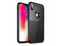 Husa TPU iPaky Shield pentru Apple iPhone X / Apple iPhone XS, Neagra, Blister