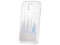 Husa TPU OEM Liquid Glitter Winter Snow pentru Apple iPhone X / Apple iPhone XS, Multicolor, Bulk