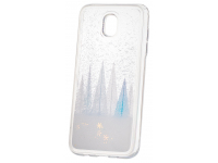 Husa TPU OEM Liquid Glitter Winter Snow pentru Samsung Galaxy J3 (2017) J330, Multicolor, Bulk