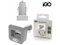 Incarcator Auto USB iGO PS00323-1001, 2.1A, 1 X USB, Alb, Blister
