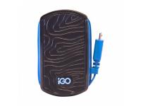 Incarcator Retea cu fir MicroUSB iGO PS00304-0002, 1A, 1 X USB, Bleumarin, Blister