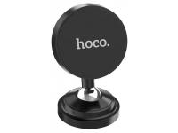 Suport Auto Universal HOCO magnetic pentru Telefon CA36, Negru, Blister