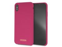 Husa Silicon - TPU Guess pentru Apple iPhone XS Max, GUHCI65LSGLPI, Ciclam, Blister
