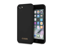 Husa TPU Guess pentru Apple iPhone 7 / Apple iPhone 8, GUHCI8LSGLBK, Neagra, Blister