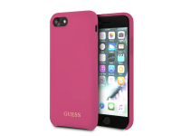 Husa TPU Guess pentru Apple iPhone 7 / Apple iPhone 8, GUHCI8LSGLPI, Ciclam, Blister