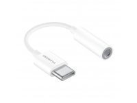 Adaptor Audio USB Type-C la 3.5 mm Huawei CM20, Alb, Bulk