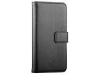 Husa Piele Redneck Duo Wallet Folio pentru Asus Zenfone 3 ZE520KL, RNCS01921BU, Neagra, Bulk