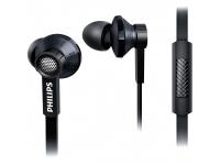 Handsfree Casti In-Ear Philips TX1 Hi-Res Audio, Cu microfon, 3.5 mm, Negru, Bulk TX1 BK/00