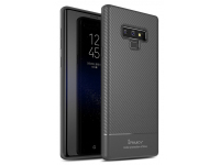 Husa TPU iPaky Carbon Fiber pentru Samsung Galaxy Note9 N960, Gri, Blister
