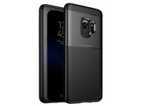 Husa TPU iPaky Shield pentru Samsung Galaxy S9 G960, Neagra, Blister