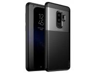 Husa TPU iPaky Shield pentru Samsung Galaxy S9+ G965, Neagra, Blister