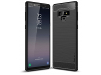Husa TPU iPaky Slim Carbon pentru Samsung Galaxy Note9 N960, Neagra, Blister