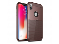 Husa TPU iPaky Shield pentru Apple iPhone X / Apple iPhone XS, Maro, Blister