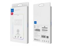 Folie Protectie Ecran Rock pentru Apple iPhone XS Max, Sticla securizata, Full Face, Edge Glue, Anti Blue-ray, HD, Blister