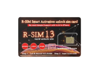 Sim deblocare R-Sim13 3in1 pentru Apple iPhone / iPad (iOS 12) Bulk