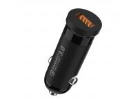Incarcator Auto USB Floveme YXF55507, QC3 18W 3A, 1 X USB, Negru, Blister