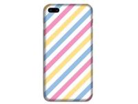 Husa TPU OEM Ultra Slim pentru Apple iPhone 7 / Apple iPhone 8, Lines, Multicolor, Bulk