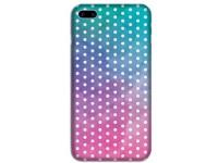 Husa TPU OEM Ultra Slim pentru Apple iPhone X / Apple iPhone XS, Dots, Multicolor, Bulk