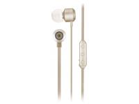 Handsfree Casti Bluetooth KitSound Ribbons cu microfon, KSRIBBTGD, Auriu, Blister