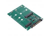 Adaptor conversie M.2 NGFF / mSATA SSD la SATA III