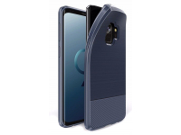 Husa TPU DUX DUCIS Carbon Magnetic Samsung Galaxy S9 G960, Bleumarin, Bulk