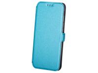 Husa Piele OEM Smart Pocket pentru Samsung Galaxy J6 J600, Bleu, Bulk