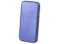 Husa Piele OEM Elegance pentru Apple iPhone 7 / Apple iPhone 8, Bleumarin, Bulk