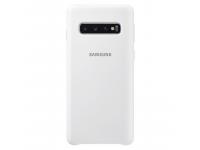 Husa TPU Samsung Galaxy S10 G973, Alba, Blister EF-PG973TWEGWW