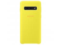 Husa TPU Samsung Galaxy S10 G973, Galbena, Blister EF-PG973TYEGWW