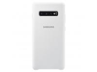Husa TPU Samsung Galaxy S10+ G975, Alba, Blister EF-PG975TWEGWW