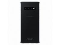 Husa TPU Samsung Galaxy S10+ G975, Clear Cover, Transparenta, Blister EF-QG975CTEGWW
