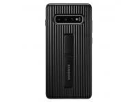 Husa Plastic Samsung Galaxy S10+ G975, Standing, Bleumarin, Blister EF-RG975CBEGWW