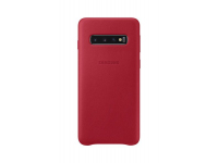 Husa Piele Samsung Galaxy S10 G973, Leather Cover, Rosie, Blister EF-VG973LREGWW