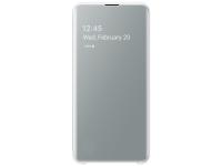 Husa Plastic Samsung Galaxy S10e G970, Clear view, Alba, Blister EF-ZG970CWEGWW