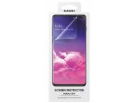 Folie Protectie Ecran Samsung Galaxy S10+ G975, Plastic, Full Face, Blister ET-FG975CTEGWW