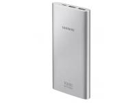 Baterie Externa Powerbank Samsung EB-P1100, 10000mA, Fast Charging, 2 x USB, Port alimentare USB Type-C, Argintie, Blister EB-P1100CSEGWW