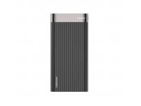 Baterie Externa Powerbank Baseus Parallel QC 3.0, 20000 mA, 2 x USB - USB Type-C, Neagra, Blister