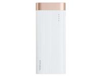 Baterie Externa Powerbank Baseus Parallel Line 10000 mA, 1 x USB, Alba, Blister