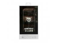 Folie Protectie Ecran OEM pentru Samsung Galaxy J6 J600, Sticla securizata, Full Face, Full Glue, 9H, Neagra, Blister