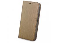 Husa Piele OEM Smart Magnet pentru Samsung Galaxy A9 (2018), Bronz, Bulk