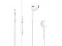 Handsfree Casti In-Ear Apple, Cu microfon, 3.5 mm, Alb, Blister MNHF2ZM/A