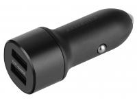 Incarcator Auto USB Samsung EP-L1100NBEGWW, 2 X USB, Fast Charge, Negru, Blister